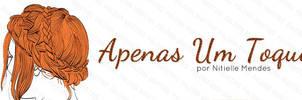 Logotipo Apenas um toque by Paloma182