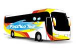 Vetor onibus pacifico Tour