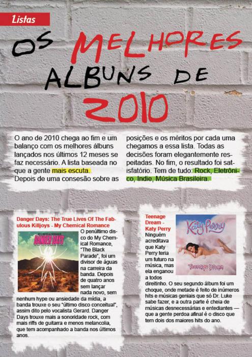 Editorial revista sonora by Paloma182