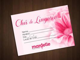 Convite Cha de Lingerie by Paloma182