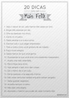 20 dicas para ser mais feliz by Paloma182