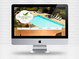 Layout site Simply Green SPA by Paloma182