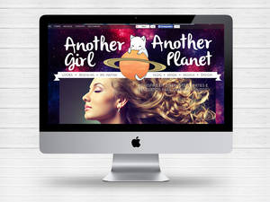 Layout do meu blog Another girl Another Planet