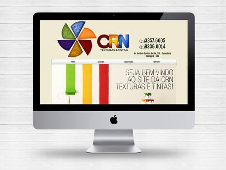 Layout site CRN Texturas