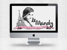 Layout blog le Mandy by Paloma182