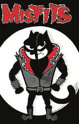 Felix The Cat As Jerry Only The Misfits by MicheleWitchipoo