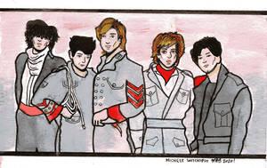 Duran Duran Watercolor April 2020