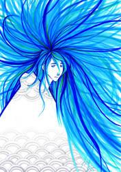 frozen blue by marendins
