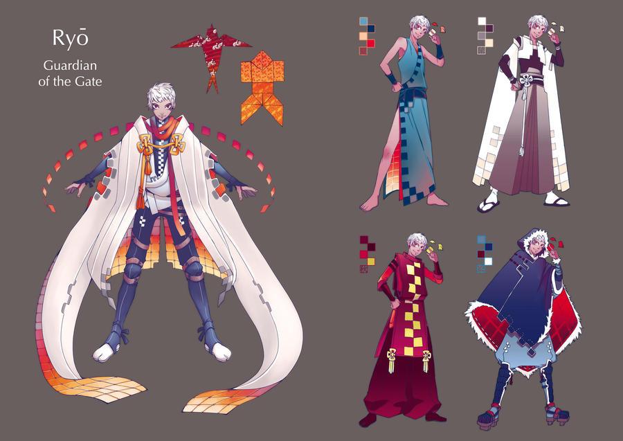 Kuro-E Challenge - Ryo by marendins