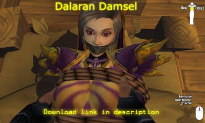 Dalaran Damsel by Glowzone