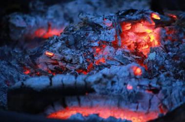 Embers Fire by Pzychonoir