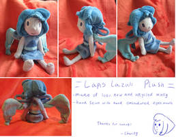 Lapis Lazuli plush (Sold) by Charitynorn