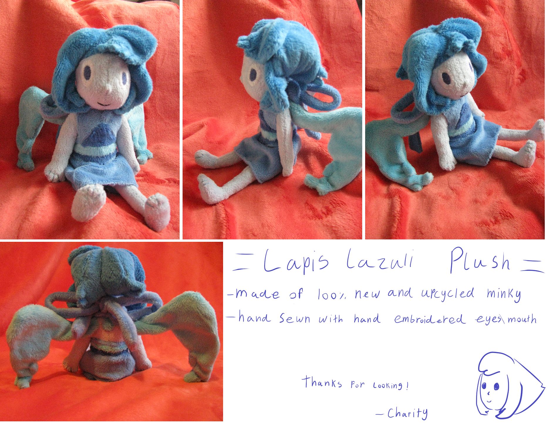 Lapis Lazuli Plush For