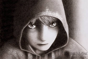 Jack Frost Pencil Drawing