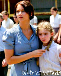 Katniss And Primrose Everdeen by DistrictPotter13