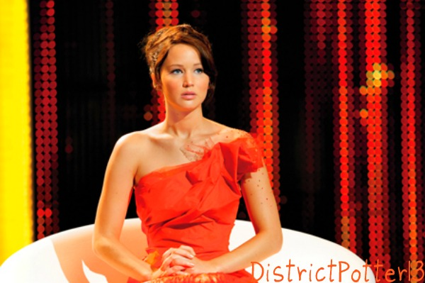 Katniss Everdeen In Her Interview Dress by DistrictPotter13 on