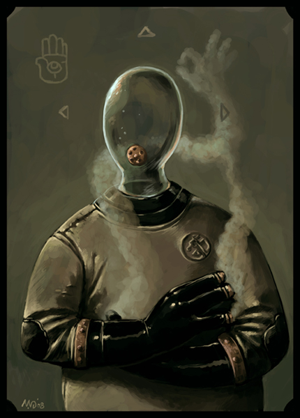The Ectoplasmic Man by TheWoodenKing