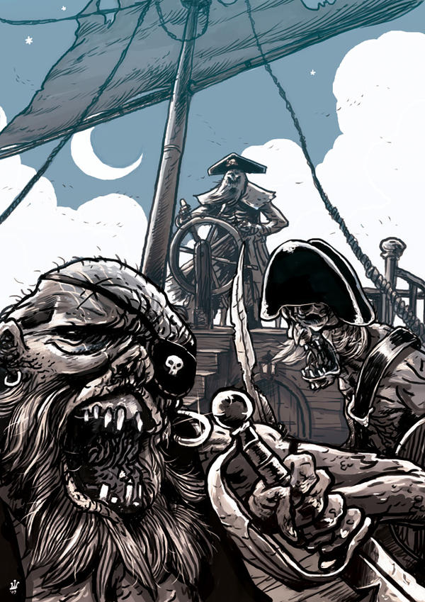 Zombie Pirates by TheWoodenKing on DeviantArt