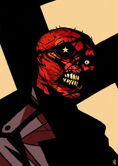 Red Skull by TheWoodenKing