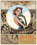 The Bionic Betty Band Poster