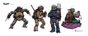 TMNT redesigns.