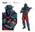 The Shredder Redesign.
