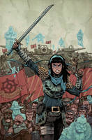 AMALAS BLADE #4 COVER by TheWoodenKing