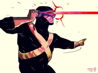 Cyclops sketch! by TheWoodenKing