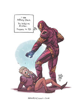 Anthony Stark pays Joffrey a visit!