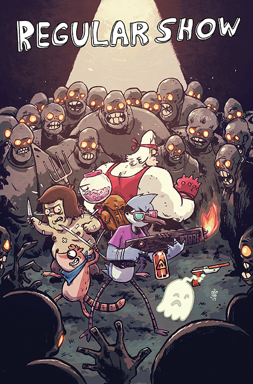 Image Result For Skips Regular Show