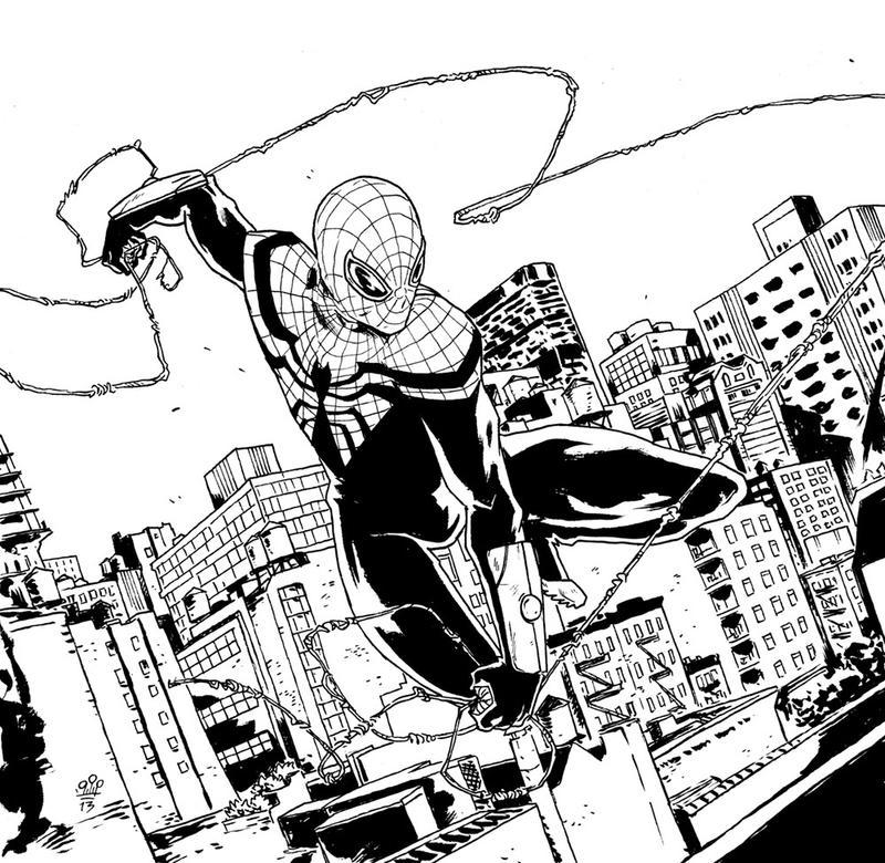 Desenhos Do Homem Aranha Para Colorir E Imprimir Spiderman ...