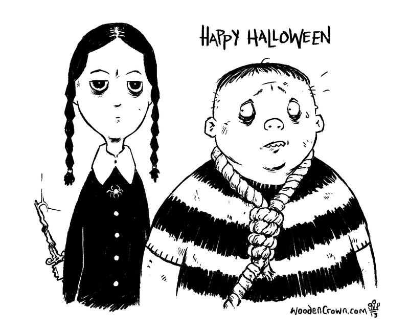 The Addams Halloween 2013 by TheWoodenKing