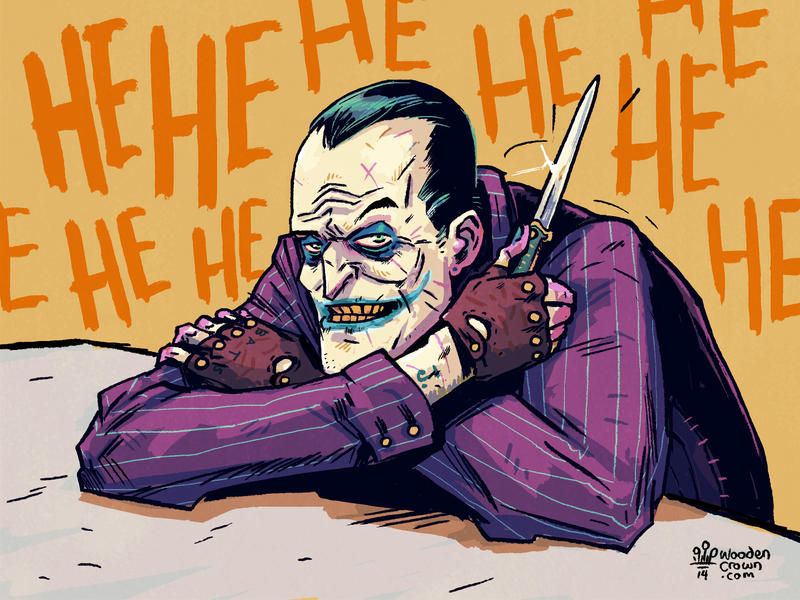 Jack AKA The Joker by TheWoodenKing