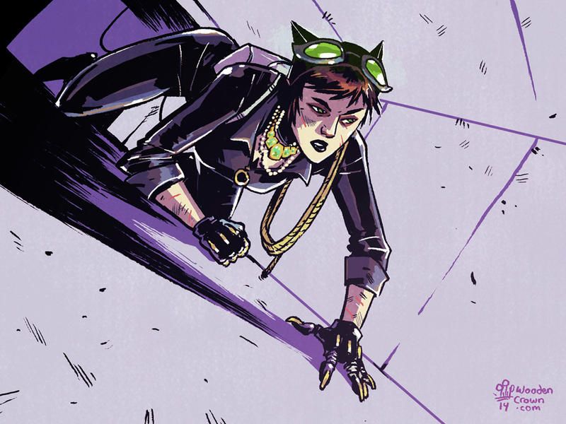 Selina Kyle by TheWoodenKing