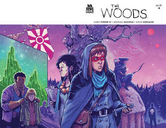 The Woods #13 cover