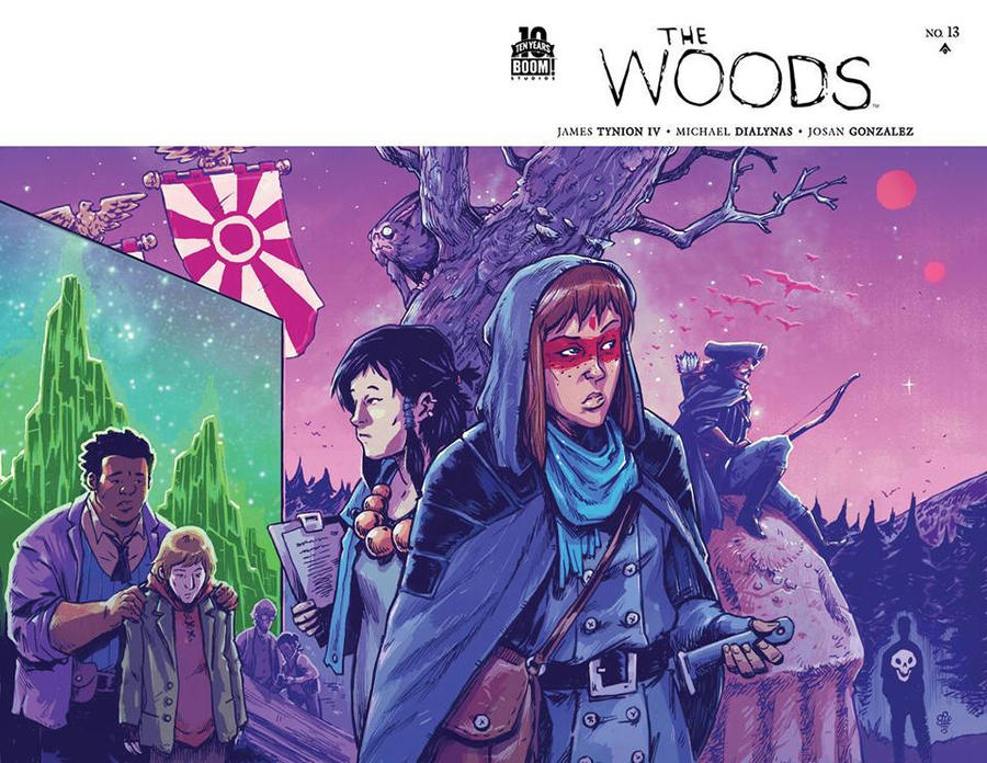 The Woods #13 cover by TheWoodenKing