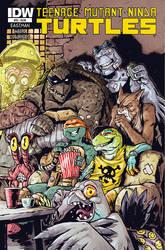Teenage Mutant Ninja Turtles #53 COVER