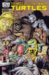 Teenage Mutant Ninja Turtles #53 COVER by TheWoodenKing