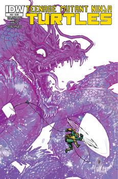 Teenage Mutant Ninja Turtles #54 COVER