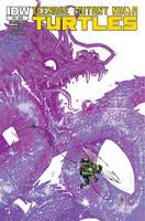 Teenage Mutant Ninja Turtles #54 COVER by TheWoodenKing