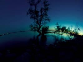Little Blue World by PabloMoranJr