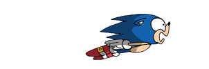 Baner: Sonic and the spikes