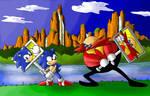 Sonic CD: Panels Battle colors