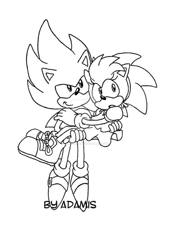 Image Result For Coloring Pages Sonic