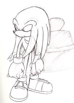 Knuckles sketch
