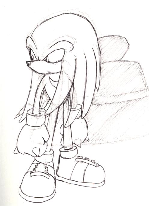 Knuckles sketch by adamis