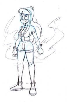 Skullgirls Lammy sketch