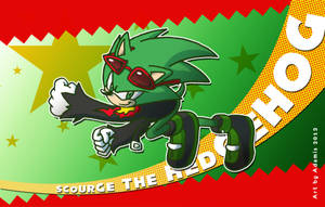 Scourge the Hedgehog by ThePandamis