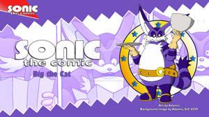 Sonic the Comic : Big the Cat