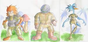 Unused StCO character designs